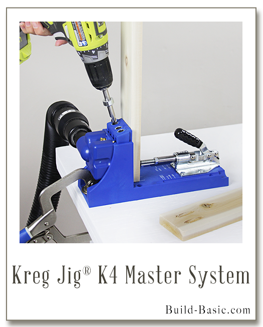 How to Use a Kreg Jig K4 by Build Basic - www.build-basic.com