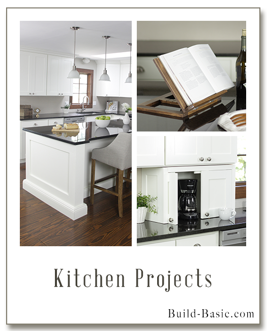 Projects by Build Basic www.build-basic.com Kitchen Projects