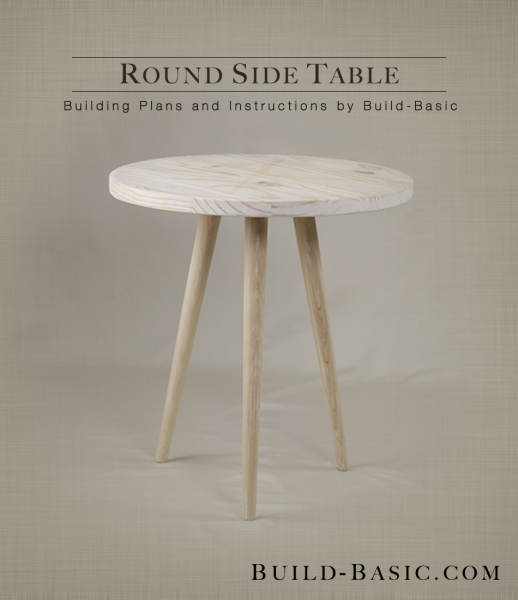 Build a Round End Table