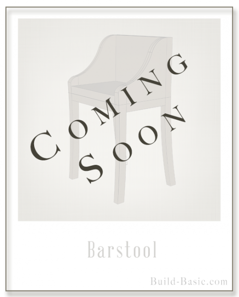 Build a Barstool - Building Plans by @BuildBasic www.build-basic.com