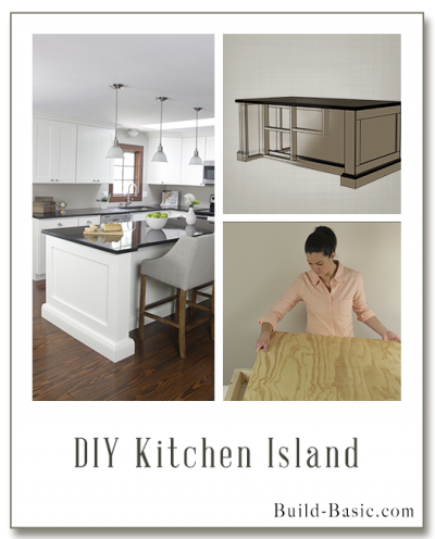 Build A DIY Kitchen Island   Building Plans By @BuildBasic Www.build Basic