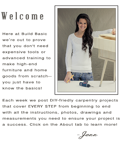 Meet DIY Jenn - @BuildBasic www.build-basic.com