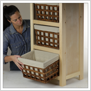 Basket Storage Cabinet By Build Basic 21