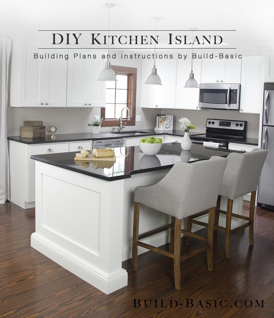 kitchen island cabinets.  Build a DIY Kitchen Island Basic
