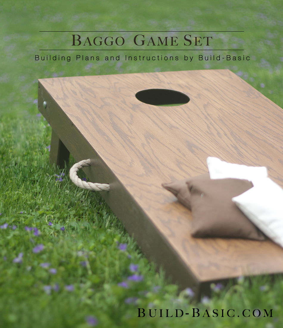 build a baggo game set build basic - Cornhole Design Ideas