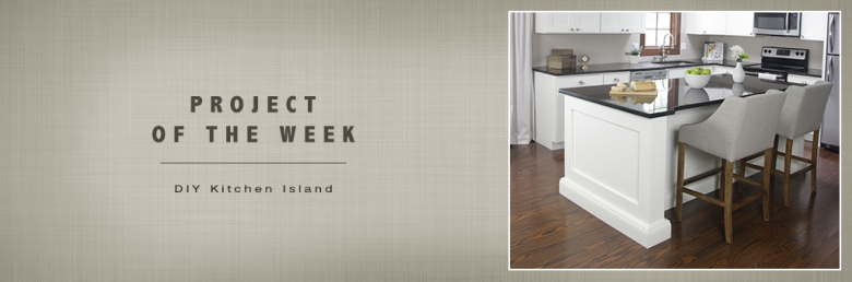 Build Basic Project of the Week - DIY Kitchen Island - @BuildBasic www.build-basic.com