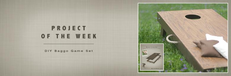 Build Basic Project of the Week - DIY Baggo Game Set - @BuildBasic www.build-basic.com