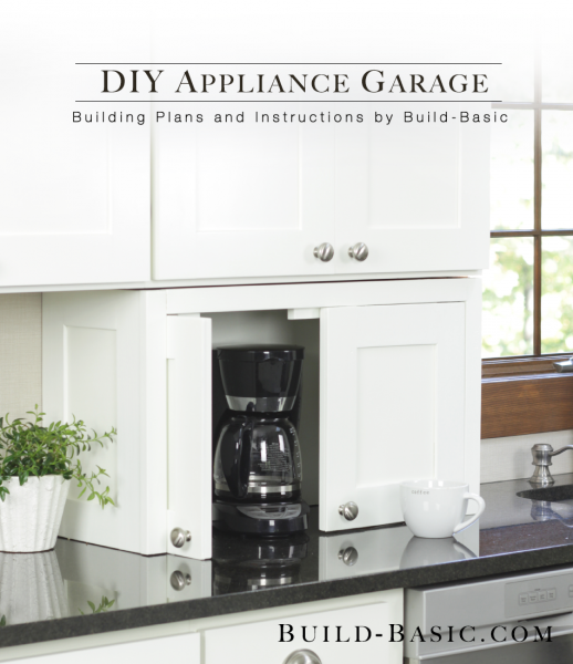 Build A DIY Appliance Garage