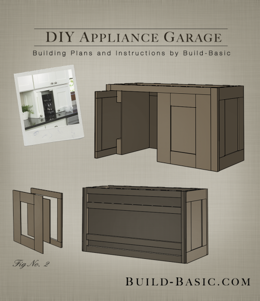 Build A Diy Appliance Garage Build Basic
