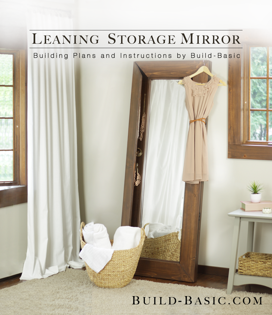 Build A Leaning Storage Mirror Build Basic