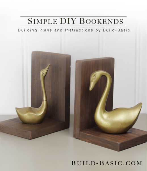 Super Build Simple DIY Bookends ‹ Build Basic YJ25
