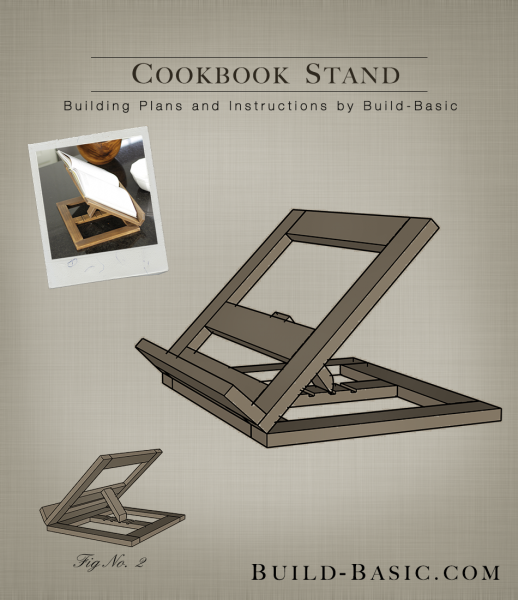build a cookbook stand build basic