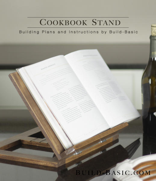 Build A Cookbook Stand