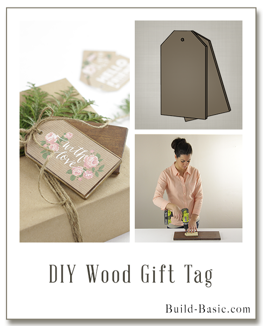 Build a Wood Gift Tag- Building Plans by @BuildBasic www.build-basic.com