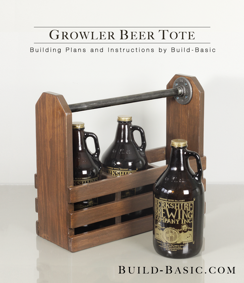 Build A Growler Beer Tote Build Basic