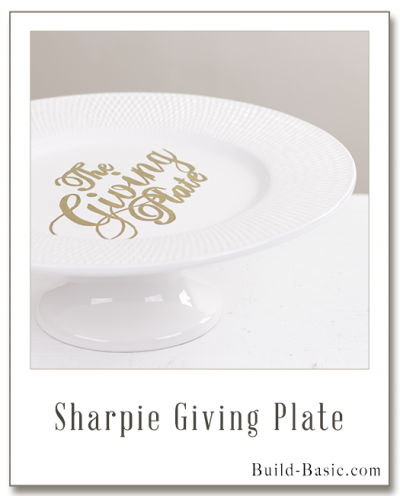 Make a Giving Plate – Project by @BuildBasic www.build-basic.com