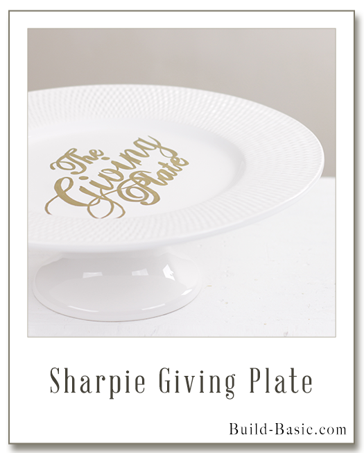 Make a Giving Plate - Project by @BuildBasic www.build-basic.com