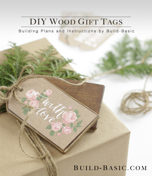 Build A Diy Wood Gift Tag Build Basic