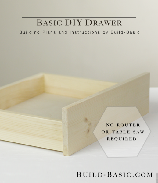 build a basic diy drawer u2039 build basic rh build basic com how to make kitchen cabinet drawers how to make a drawer cabinet workshop