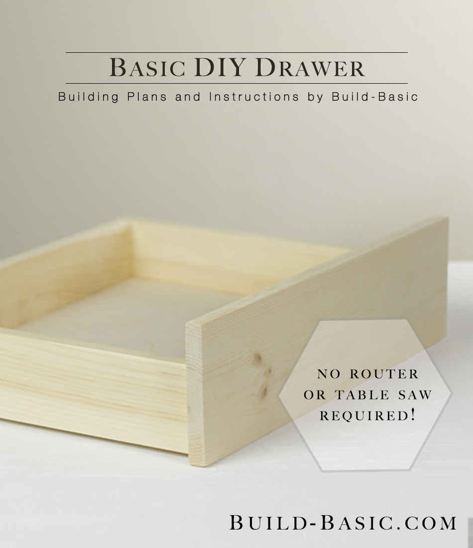 Build A Basic Diy Drawer Build Basic
