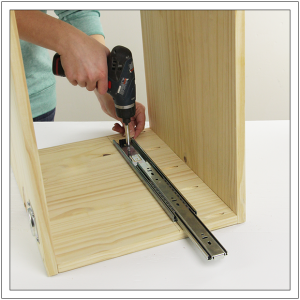 How To Install Drawer Slides Step
