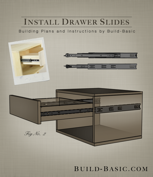 how to install sliding drawer hardware 1