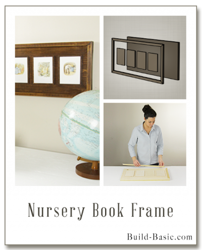 Build a Nursery Book Frame - Building Plans by @BuildBasic www.build-basic.com