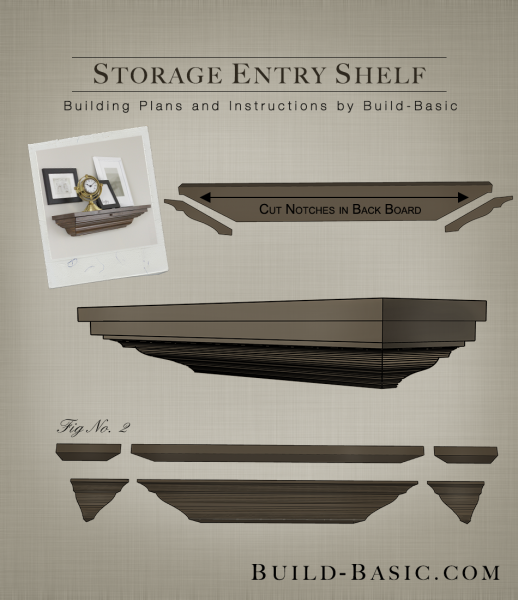 Build A Storage Entry Shelf Build Basic