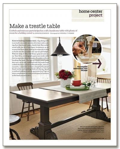 Trestle Table TOH