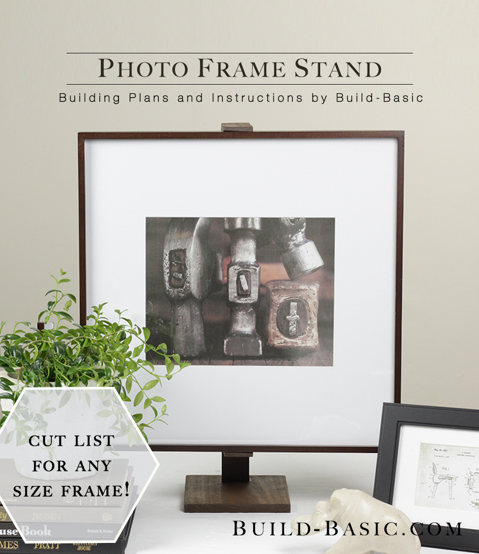 diy photo frame stand