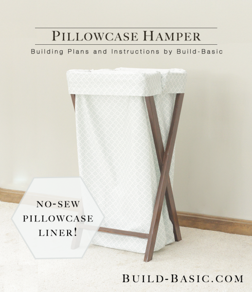 Diy Pillowcase Laundry Hamper: Build a Pillowcase Hamper ‹ Build Basic,