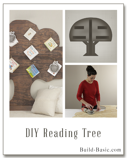 Build a DIY Reading Tree - Building Plans by @BuildBasic www.build-basic.com