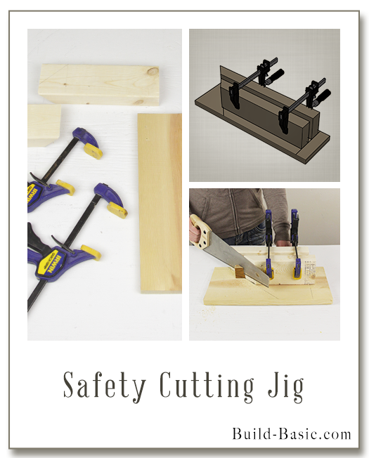 Build a Safety Cutting Jig - Building Plans by @BuildBasic www.build-basic.com