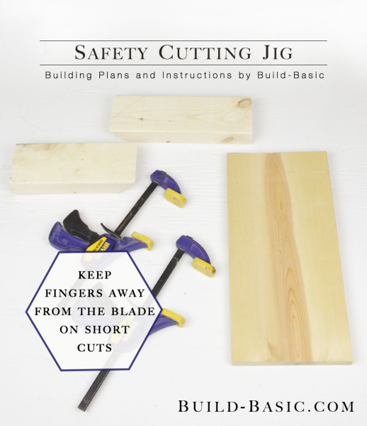 Safety Cutting Jig - Display Frame