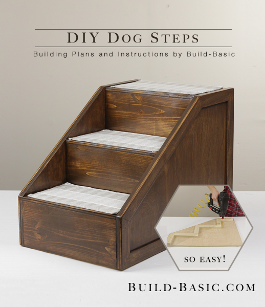 Build DIY Dog Steps