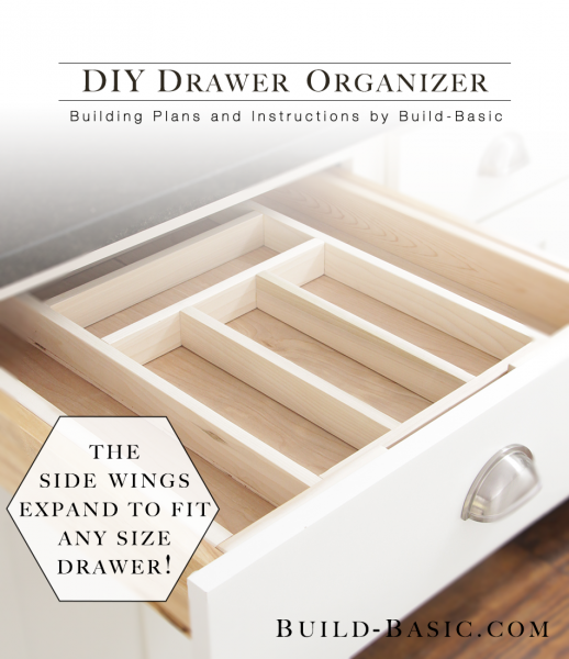 Build A Diy Drawer Organizer Building Plans By Buildbasic Www Build Basic