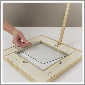 diy photo frame by build basic step