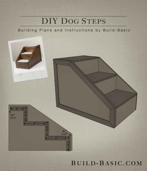 Build Diy Dog Steps Building Plans By Buildbasic Www Basic