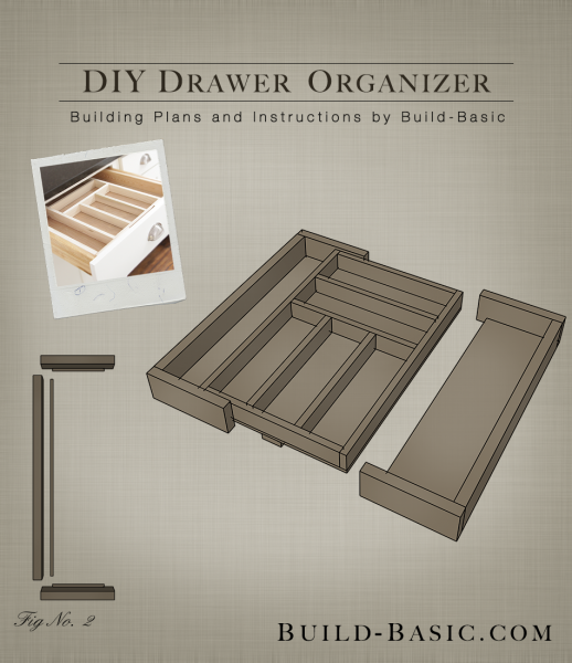 Build A DIY Drawer Organizer   Building Plans By @BuildBasic Www.build Basic