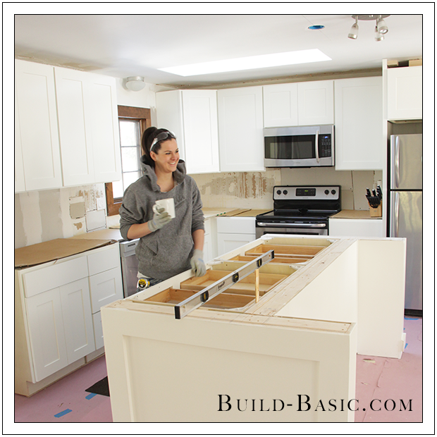 Jenn Build Basic Kitchen Remodel www.build-basic..com