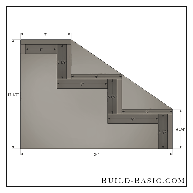 build diy dog steps building plans by buildbasic wwwbuild basic - Step House Plans
