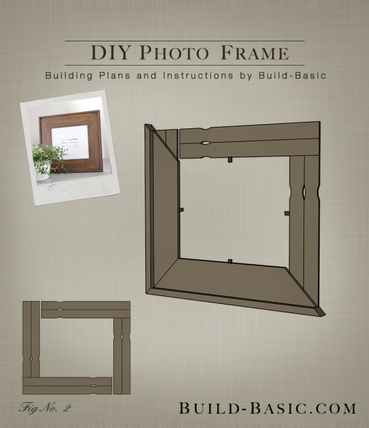 build diy photo frame building plans by buildbasic wwwbuild basic