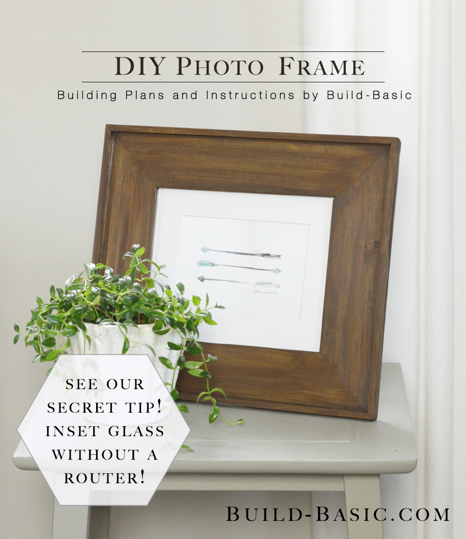 Build a diy photo frame build basic jeuxipadfo Image collections