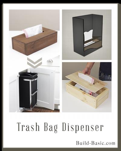 Build a Trash Bag Dispenser - Building Plans by @BuildBasic www.build-basic.com