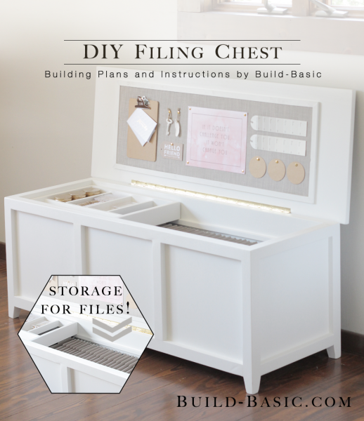 Build A Diy Filing Chest
