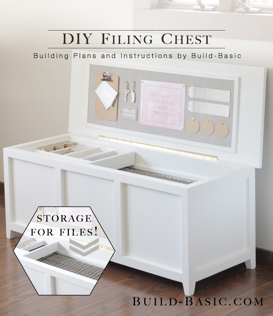 Build A Diy Filing Chest Build Basic