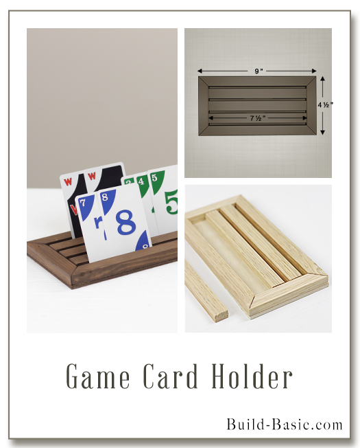 Build a Game Card Holder - Building Plans by @BuildBasic www.build-basic.com