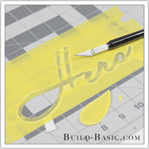 DIY Font Stencil by Build Basic - Step 7