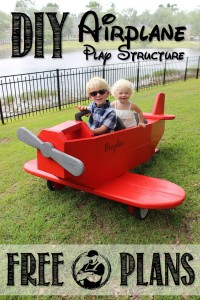 DIY Airplane Play Structure Plans by Rogue Engineer