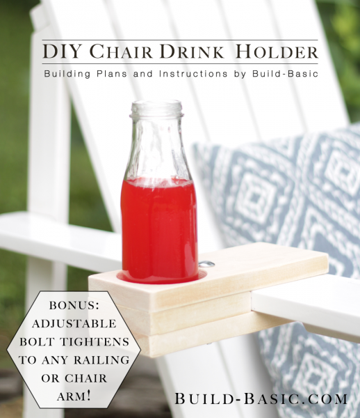 Strange Build A Diy Chair Drink Holder Build Basic Download Free Architecture Designs Pushbritishbridgeorg